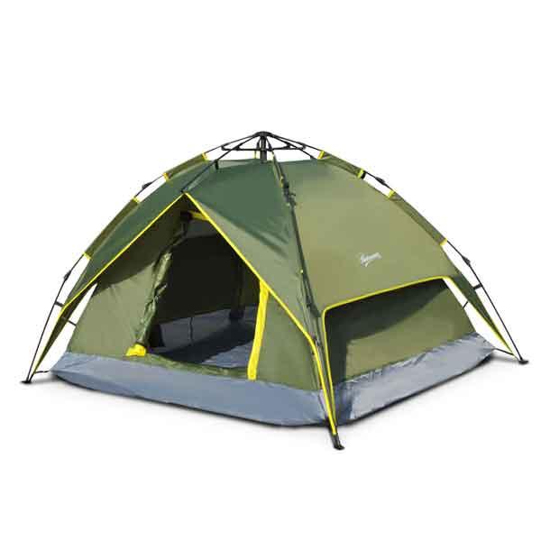 Tente de camping 2 personnes double toit