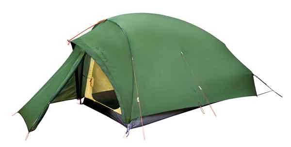 Tente Vaude pour trekking et alpinisme