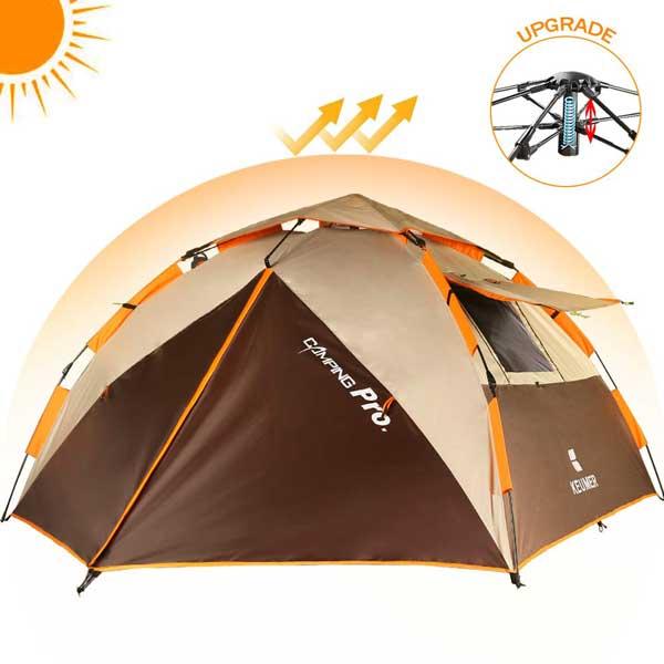 Tente de camping 3 personnes : Tentes et Campings